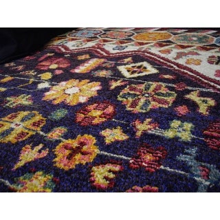 nuLOOM Distressed Traditional Floral Persian Area Rug