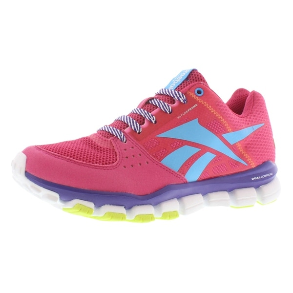 2c4d42791ba Shop Reebok Realflex Transition 4.0 Junior s Shoes - 3.5 M US Big ...