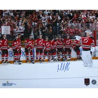 Martin Brodeur Signed New Jersey Devils Final Game LTD 130 16x20 Photo Steiner