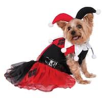 DC Comics Harley Quinn Dog Costume - Medium