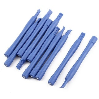 Mobile Phone Plastic Electronic Stick Spudger Opening Repair Tool Blue 10 Pcs