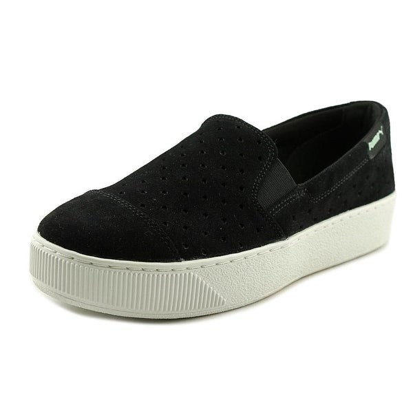 Puma PC Extreme Slip On Round Toe Suede Loafer