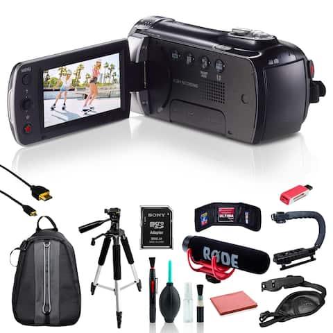 Samsung HMX-F90 Camcorder w/ 11pc Accessories Bundle