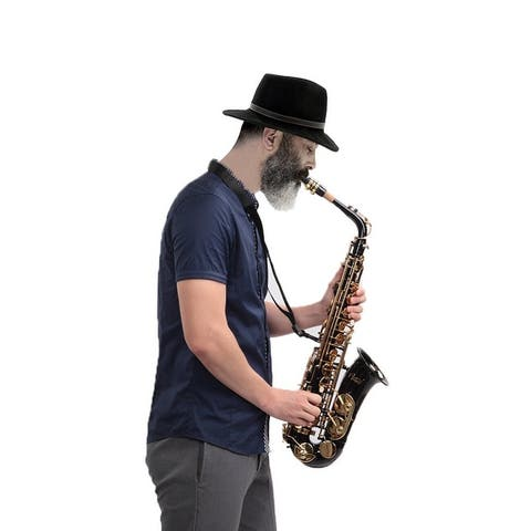 Glarry Alto Saxophone E-Flat Alto SAX Eb with 11reeds, case,carekit