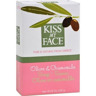 Kiss My Face - Olive And Chamomile  Bar Oap ( 4 - 8 OZ)