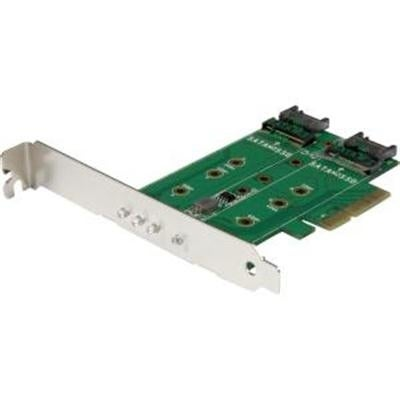 Startech Pexm2sat32n1 3-Port M.2 Ssd (Ngff) Adapter Card