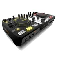 All in one DJ Controller with Built-In Audio Interface and CROSS D