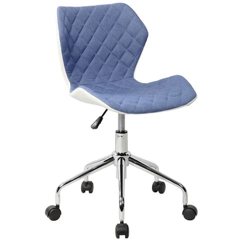 Carson Carrington Losning Adjustable Faux Leather Backing Office Task Chair