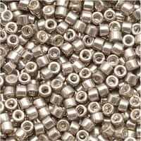 Miyuki Delica Seed Beads 11/0 Galvanized Pewter DB436 7.2 GR