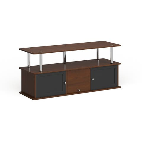Porch & Den Derbigny 3-cabinet TV Stand