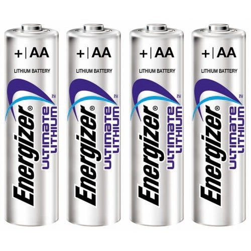 Energizer Ultimate Lithium AA (4-Pack) Lithium Battery
