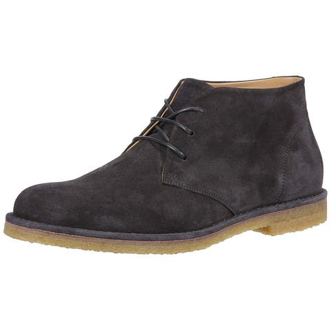 Vince Mens Scott-B Suede Round Toe Ankle Fashion Boots