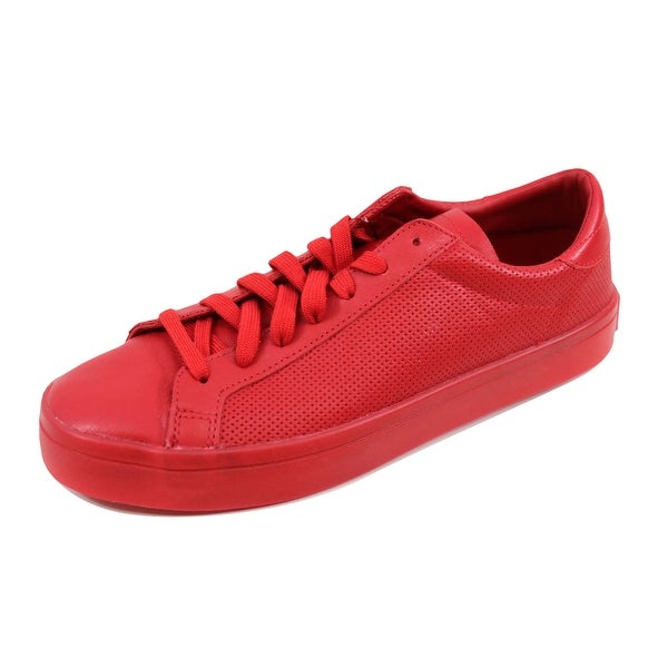great fit 9e7b2 693bd Adidas Menx27s Court Vantage Adicolor Scarlet Red S80253