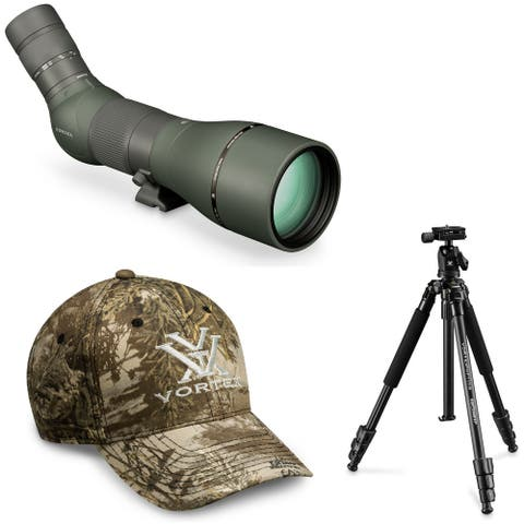 Vortex Viper HD 20-60x85 Spotting Scope (Angled) with Tripod and Hat