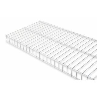 "Rubbermaid 3E0000  36"" Long Wire Shelf - White"