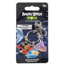 "Angry Birds Space 3.5"" Metal Keychain 3-Pack: Black, Purple, Ice Bird - Multi"