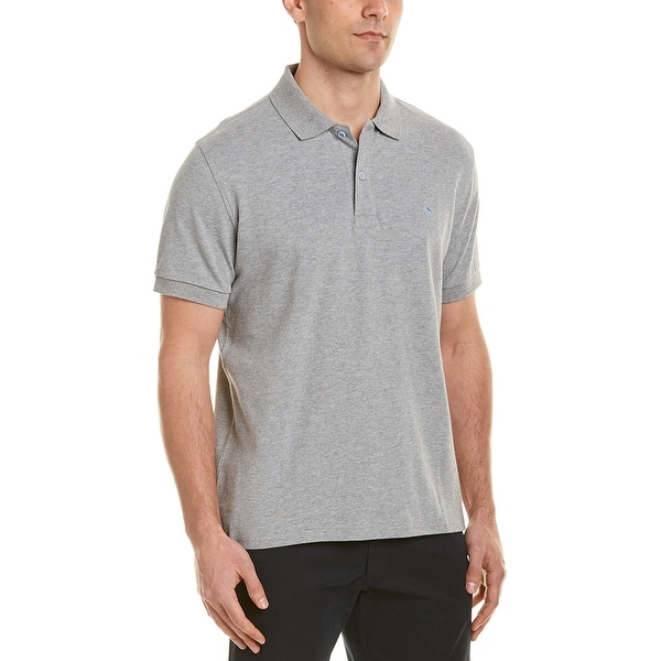 TailorByrd Mens Polo M Heather Grey