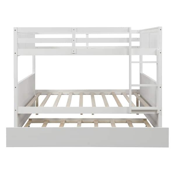 Taylor Olive Vervain Full Over Full Bunk Bed With Trundle On Sale Overstock 30214505