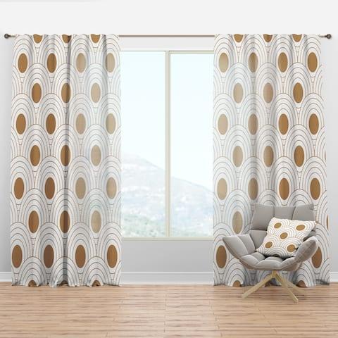 Carson Carrington Labacka Mid-Century Modern Curtain Panel