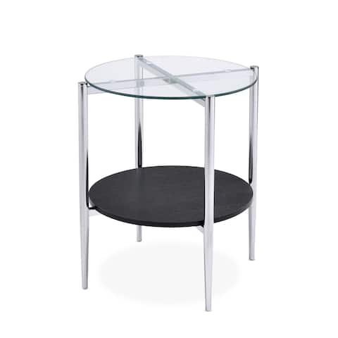 Porch & Den Bally Modern Mixed Media End Table