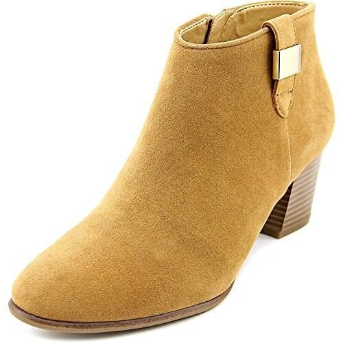 Alfani Womens Leoh Closed Toe Ankle Fashion Boots