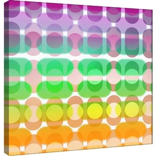 """PTM Images 9-101072  PTM Canvas Collection 12"""" x 12"""" - """"Transitions E"""" Giclee Abstract Art Print on Canvas"""