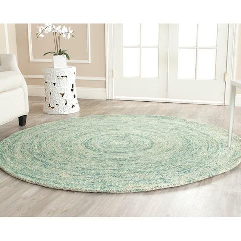 Safavieh Handmade Ikat Jacey Modern Wool Rug