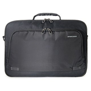 Tucano Forte Eco Friendly Double Compartment Laptop Briefcase Bag with Padded Shoulder Strap for Laptops up to 15.6""