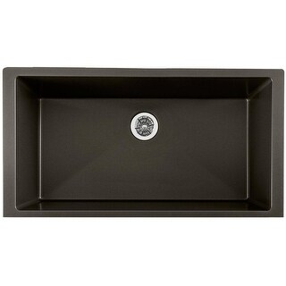 "Elkay ELXRUP3620  Quartz Luxe 35-7/8"" Undermount Single Bowl Quartz Kitchen Sink"