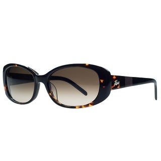 Lacoste L628/S 214 Havana Oval Sunglasses - 54-16-135