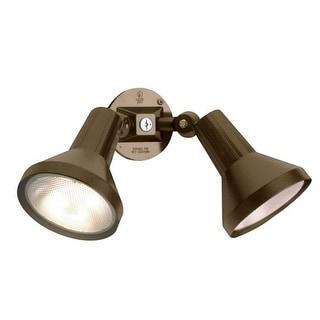 Nuvo Lighting 77/495 2 Light Dual Head Flood Light with Adjustable Swivel Mounting