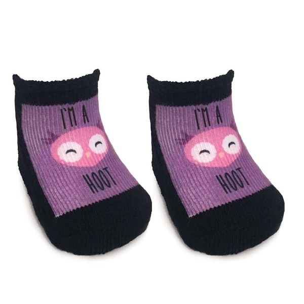 I'm A Hoot Baby Socks 0-6 Month - Multi