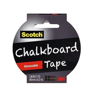 3M 1905R-CB-BLK Scotch Chalkboard Tape - Black Chalkboard Tape