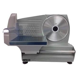Nesco FS-160 Food Slicer, 180-watt, Stainless Steel & Black