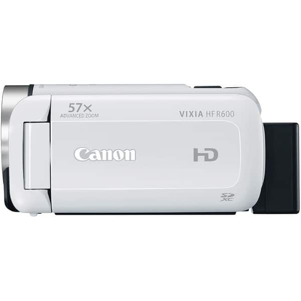 2 Units Canon VIXIA HF R600 High Capacity Intelligent Batteries Microfiber Cleaning Cloth. + AC//DC Travel Charger
