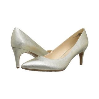 ff2be0c97f9 Nine West Womens Kristal Leather Closed Toe Platform Pumps. New Arrival.  Quick View