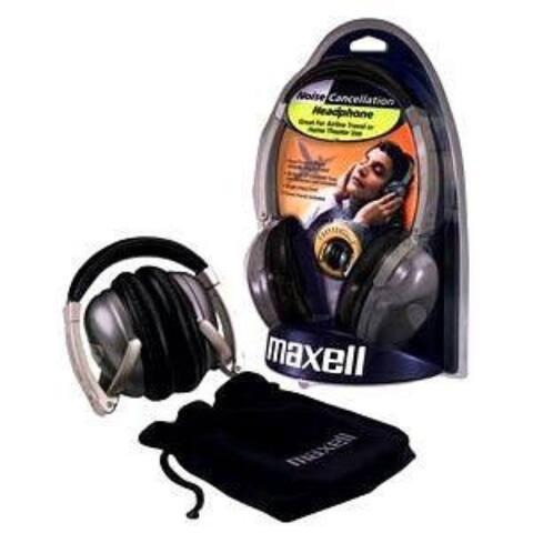 Maxell Headphones, 190400, NC II, Noise Cancellation