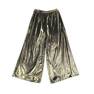 MSK NEW Gold Womens Size XL Metallic Pull-On Wide Leg Palazzo Pants|https://ak1.ostkcdn.com/images/products/is/images/direct/a891f11ed2ac3e2996d0733f14980439b0914c55/MSK-NEW-Gold-Womens-Size-XL-Metallic-Pull-On-Wide-Leg-Palazzo-Pants.jpg?impolicy=medium