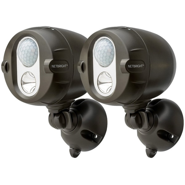Mr. Beams MBN352 Networked LED Wireless Motion Sensing Spotlight, 12 Volts