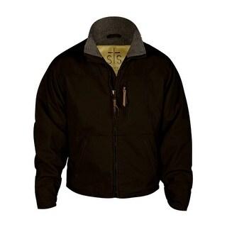 StS Ranchwear Western Jacket Mens Leather Bridger Chocolate