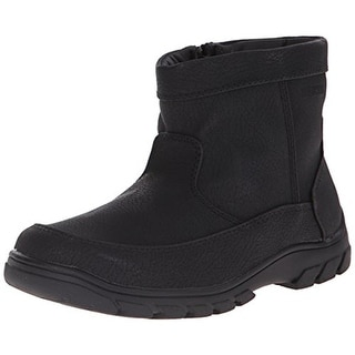 Florsheim Boys Trektion Faux Leather Waterproof Winter Boots