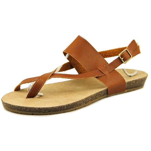 Esprit Blaine Women Open-Toe Synthetic Brown Slingback Sandal