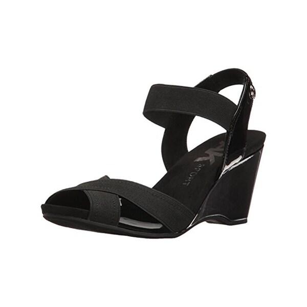 Anne Klein Sport Womens Wilamina Sport Sandals Strappy Open Toe