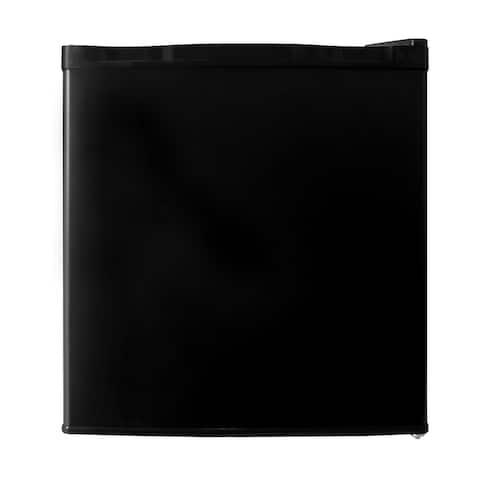 1.1 cu.ft. Black Stainless Steel Upright Freezer with Single Door