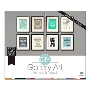 MAMBI DIY Gallery Art Pad Quotes