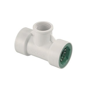 "Orbit 34772 PVC-Lock FPT Tee Connector, 3/4"" Dia x 1/2"" Dia"