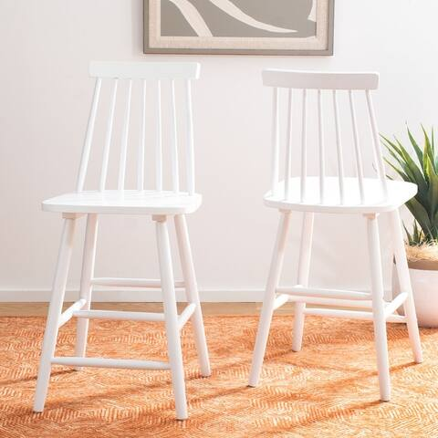 """Safavieh Beaufort 24-inch Spindle Farmhouse Counter Stool (Set of 2) - 17.7"""" x 20.5"""" x 39.1"""" - 17.7"""" x 20.5"""" x 39.1"""""""