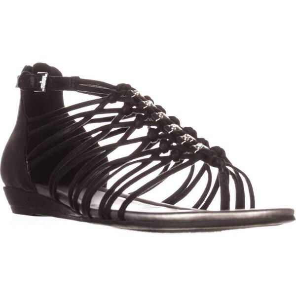 99b0d8a9892de Shop G by GUESS Jonsie Flat Strappy Sandals