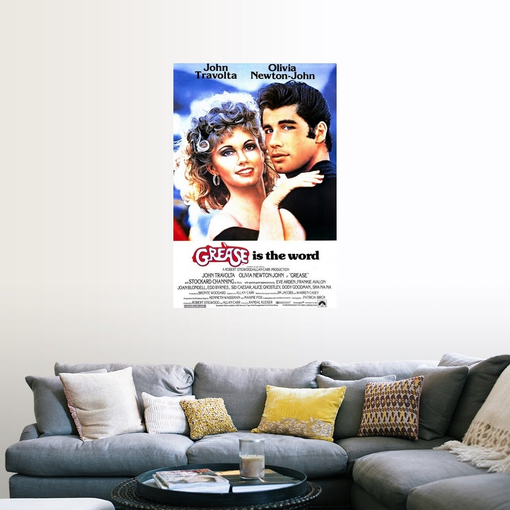 Shop Grease 1978 Poster Print Overstock 24138058