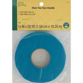 "Dritz Quilting Make-It Chenille 5/8"" Wide 20Yd-Aqua"